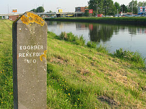 Noordhollandsch Kanaal - The canal near Alkmaar