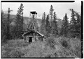 NORTH FRONT - Iditarod Trail Shelter Cabins, Rhon River Shelter Cabin, Nikolai, Yukon-Koyukuk Census Area, AK HABS AK,9-SEW,2-B-3.tif