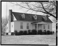 NORTH FRONT AND EAST SIDE - Bride's Hill, County Road 43, Courtland, Lawrence County, AL HABS ALA,40-COURT.V,2-1.tif