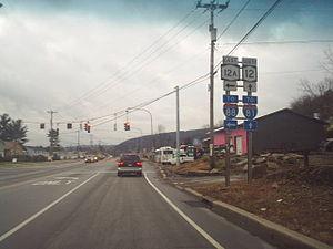 Chenango, New York - State Route 12, Chenango Bridge, NY