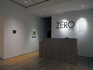 ZERO foundation - ZERO in NY, Sperone Westwater, New York 2008