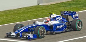 Williams FW31 - Image: Nakajima Williams FW31