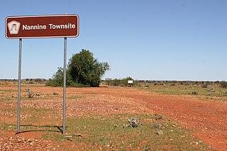 Nannine, Western Australia Town in Western Australia