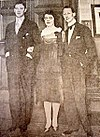 Napier Sturt, his sister Lois and brother in law Evan Morgan, in 1934.jpg