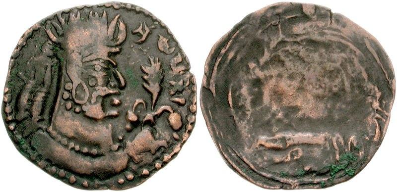 Narana-Narenda of the Alchon Huns late 4th-early 5th century CE