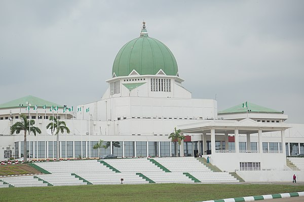Nigerian National Assembly, Abuja National Assembly Building, Abuja, Nigeria.jpg