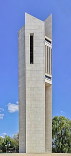 National Carillon architectural structure in Canberra, Australia