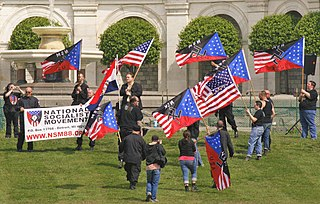 The NSM rally on the West lawn of the US Capitol, Washington DC, 2008