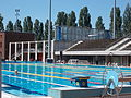 National Swimming Pool. Northern part. Big swimming pool from north. - Margaret Island, Budapest, Hungary.JPG