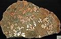 Native copper pods in garnet-pyroxene skarn (Madison Gold Skarn Deposit, Late Cretaceous, 80 Ma; west of Silver Star, Montana, USA) 3.jpg