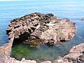 Natural Arch on Rascarrel Shore - geograph.org.uk - 1349431.jpg