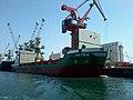 Navire PATRIA en quai au port de Casablanca.jpg