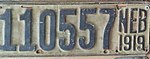 Nebraska license plate 1919 from the private collection of Ryan Smith.jpg