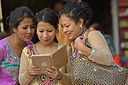 Nepali women with iPad.jpg