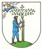 Das Wappen von Netzschkau