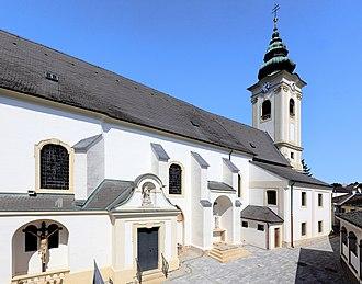 Neusiedl am See - Image: Neusiedl am See röm. kath. Kirche