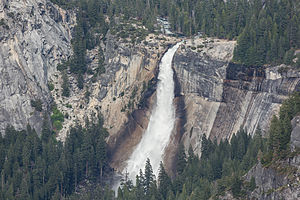 Nevada Fall - Nevada Fall as seen from Glacier Point