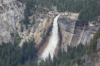 Nevada Fall - Nevada Fall as seen from Glacier Point