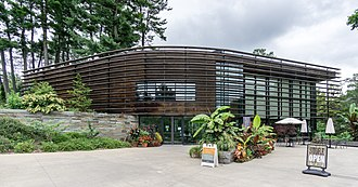 Cornell Botanic Gardens - Nevin Welcome Center at the Botanic Gardens
