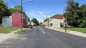 New Richmond, Ohio - Looking north on Front Street