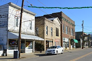 New Straitsville, Ohio - West Main Street, the village's business district