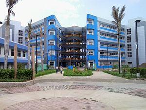 National University of Engineering (Nicaragua) - New building of the Universidad Nacional de Ingenieria, Managua, 2013