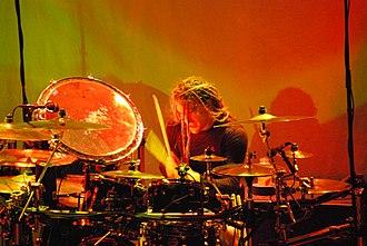 Nick Oshiro - Nick Oshiro during the Cannibal Killers tour in June 2007.