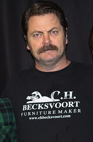 Nick Offerman - Offerman in October 2013