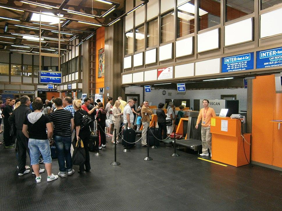 Nis airport terminal