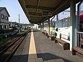 Nishi-Kajima Sta Tenryu Hamanako Line Platform.jpg