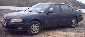 Renault Samsung Motors - A Nissan Cefiro S Touring, which formed the base for an older version of the SM5
