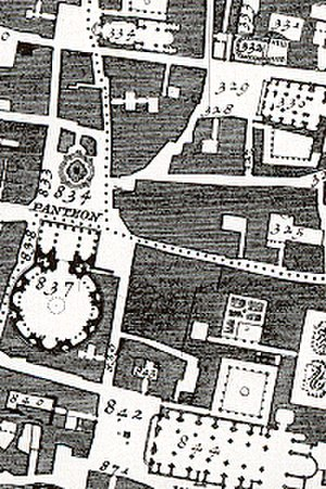 Giambattista Nolli - Image: Nolli detail pantheon