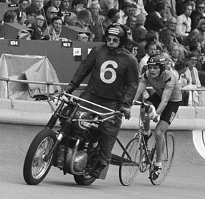 Martin Venix - Martin Venix with his pacer at the 1979 World Championships
