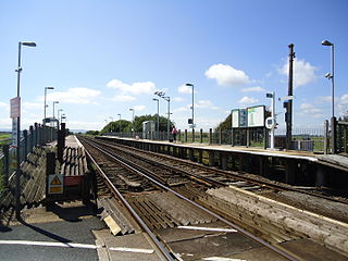 Normans Bay railway station Railway station in East Sussex, England