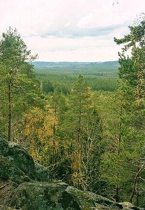 Norra Kvill National Park - Image: Norra Kvill Nationalpark