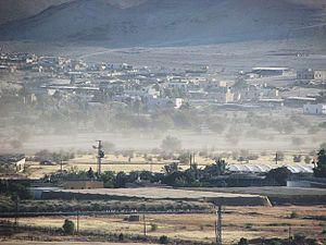 Fasayil - View of Fasayil al-Fauqa (north Fasayil), 2014