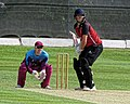 North Middlesex CC v Hampstead CC at Crouch End, Haringey, London 19.jpg
