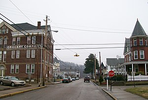 National Register of Historic Places listings in Wetzel County, West Virginia - Image: North Street Historic District