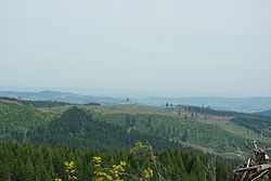 Northern Oregon Coast Range logging area 2 - Washington and Yamhill counties, Oregon.jpg