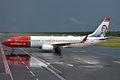 Norwegian (Henrik Wergeland livery), LN-NOE, Boeing 737-8Q8 (16270712027).jpg
