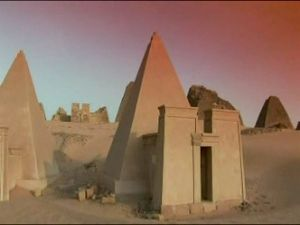 Economy of Sudan - Nubian Pyramids at Meroe.