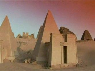 Economy of Sudan - Nubian Pyramids at Meroe.