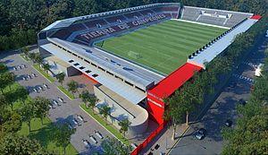 Estadio Jorge Luis Hirschi - Image: Nuevo Estadio Pincha Vista 1