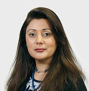 Nus Ghani British Conservative Politician