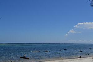 Nyali Beach from the Reef Hotel during high tide in Mombasa, Kenya 52.jpg