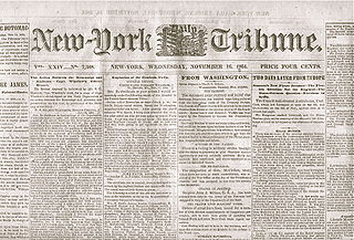 <i>New-York Tribune</i> newspaper