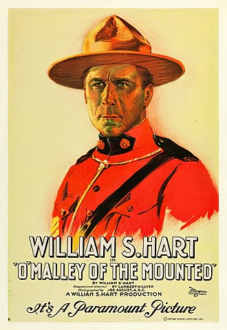 Northern (genre) - Poster for the film O'Malley of the Mounted (1929)