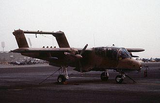 VMO-2 - A VMO-2 OV-10A at Mecca in December 1990.