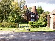 Oast House in Tudeley Kent