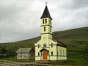 Obljaj - Catholic church in Obljaj